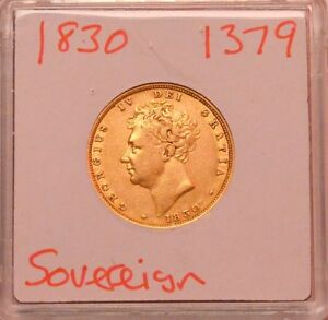 1830 SOVEREIGN GEORGE IV   1379