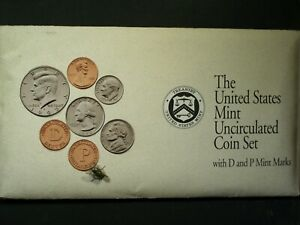 1992 U.S. MINT SET   UNCIRCULATED P & D COINS   ORIGINAL ENVELOPE & COA