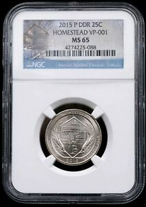 Click now to see the BUY IT NOW Price! 2015 DDR 004 ERROR HOMESTEAD VP 001 NGC MS 65 NEBRASKA 088