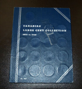 COMPLETE CANADA LARGE CENTS SET 1858 1920  45 COINS