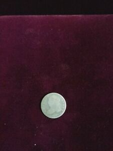 1832 CAPPED BUST DIME <> RETAINED CUD REVERSE <> G TO VG DETAILS