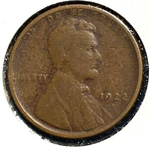 1922 D 1C LINCOLN CENT BETTER DATE   52911