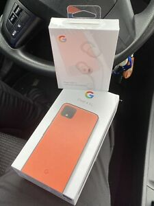 GOOGLE PIXEL 4 XL   OH SO ORANGE   128 GB   DUAL SIM FACTORY UNLOCKED & MORE