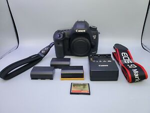CANON EOS 5D MARK III 22.3MP DIGITAL SLR CAMERA  11K SHUTTER COUNTS