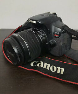 CANON EOS REBEL T4I EOS DIGITAL SLR CAMERA WITH EFS 18 55MM LENS BATTERY CHARGER