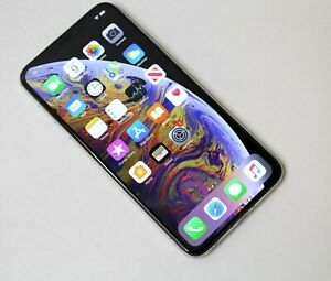 VERIZON APPLE IPHONE XS MAX 512GB MT6N2LL/A 12.3.1 SILVER   CLEAN IMEI