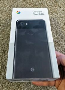 GOOGLE PIXEL 3 XL 64GB BLACK UNLOCKED  ALL PARTS IN THE BOX