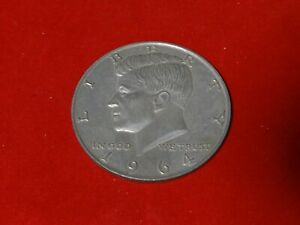 LARGE 3 INCH NOVELTY 1964 KENNEDY HALF DOLLAR MEDAL/COIN/COASTER/PAPERWEIGHT