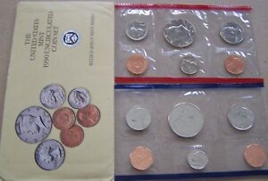 1990 UNCIRCULATED US MINT SET  10 COINS