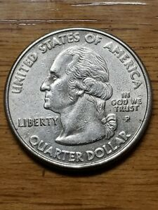 2000 P MARYLAND STATE QUARTER DDO MAJOR MINTING ERROR