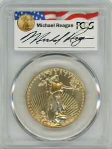 Click now to see the BUY IT NOW Price! 1993 $50 GOLD EAGLE PCGS MS 70 REAGAN LEGACY SERIES POP 19 PRICE GUIDE $8173 1