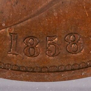 Click now to see the BUY IT NOW Price! ULTRA  1858 GREAT BRITAIN PENNY NGC MS62  BN   FIRST DISCOVERED DOUBLE DIE