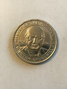WINSTON CHURCHILL COIN MAKERS OF THE MILLENNIUM