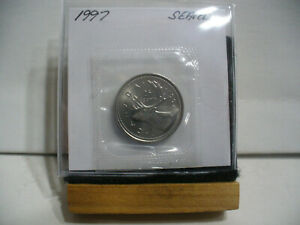 Click now to see the BUY IT NOW Price! 1997 CANADA QUARTER  DOLLAR TOP GRADE  25 CENT PIECE  97  PROOF LIKE  SEALED