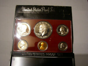 1976 UNITED STATES MINT PROOF COIN SET IN ORIGINAL BOX