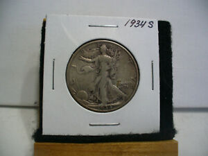 Click now to see the BUY IT NOW Price! 1934 S  WALKER  LIBERTY WALKING  HALF  DOLLAR      50 CENT PIECE   COIN  34S