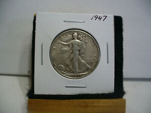 Click now to see the BUY IT NOW Price! 1947   WALKER  LIBERTY WALKING  HALF  DOLLAR      50 CENT PIECE   COIN  47