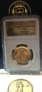 Click now to see the BUY IT NOW Price! 2009 US GOLD $20 ULTRA HIGH RELIEF DOUBLE EAGLE  NGC MS69 MINT BOX & COA & BOOK