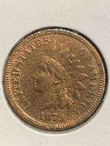 1879 INDIAN HEAD CENT PENNY   CLEANED