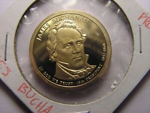 2010   S PRESIDENTIAL DOLLAR BUCHANAN. PROOF.  A