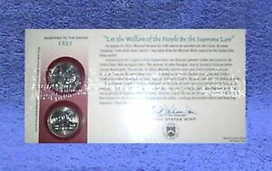 2003 MISSOURI Q33 SEALED FIRST DAY COIN COVER