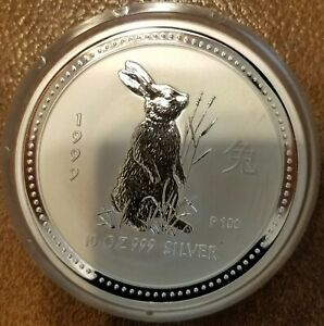 Click now to see the BUY IT NOW Price! 1999 PERTH MINT SERIES ONE 10 OZ. SILVER ROUND LIMITED EDITION .999 SILVER PROOF
