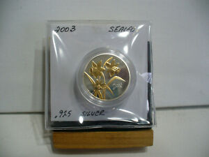 Click now to see the BUY IT NOW Price! 2003   50  CENT PROOF  COIN  CANADA   GOLDEN  DAFFODILL  FLOWER     SEALED