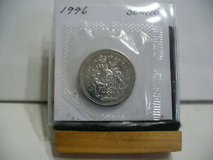 Click now to see the BUY IT NOW Price! 1996  CANADA HALF DOLLAR   NICKEL  50 CENT PIECE  PROOF LIKE SEALED  HIGH  GRADE
