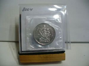 Click now to see the BUY IT NOW Price! 2004  CANADA HALF DOLLAR  NICKEL  50 CENT PIECE  PROOF LIKE SEALED  HIGH  GRADE