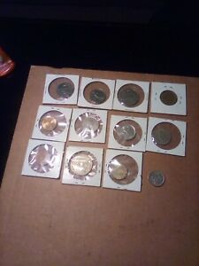 WORLD COIN LOT 11 VARIOUS YEARS