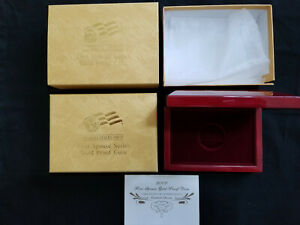 2008 FIRST SPOUSE SERIES GOLD PROOF COIN BOX W/ COA CARD  MONROE   NO COIN