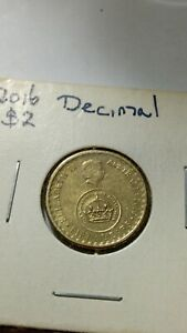 2016 AUSTRALIAN $2 TWO DOLLAR CHANGE OVER COIN   LOW MINTAGE   FINE CONDITION