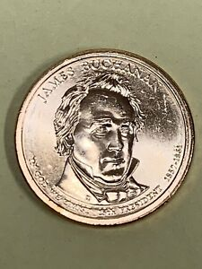 2010 D JAMES BUCHANAN PRESIDENTIAL DOLLAR COIN UNCIRCULATED