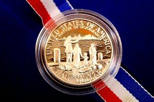 UNITED STATES LIBERTY COMMEMORATIVE COIN SILVER DOLLAR ELLIS ISLAND 1986