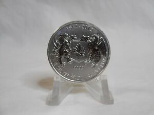 2012 CANADA SILVER DOLLAR WAR OF 1812 .75 OZ.