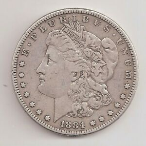1884   VF   MORGAN DOLLAR        GTC25