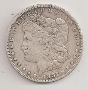 1887 O   VF   MORGAN DOLLAR        GTC25