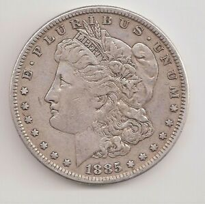 1885   VF   MORGAN DOLLAR        GTC25