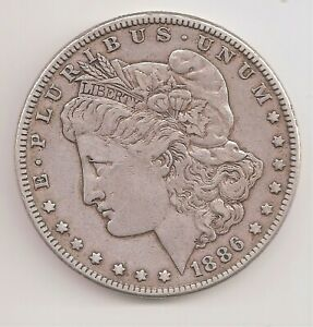 1886   VF   MORGAN DOLLAR        GTC25