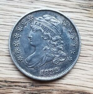 1832 CAPPED BUST DIME   CH AU ABOUT UNCIRCULATED MAKE AN OFFER