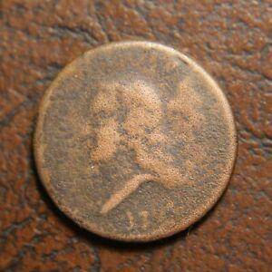 1793 LIBERTY CAP HALF CENT C 2