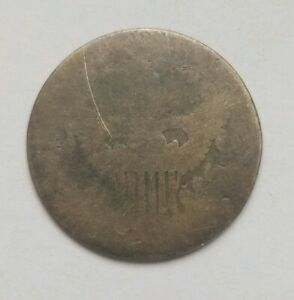1807  ?  DRAPED BUST DIME 10C LOW GRADE CIRCULATED FILLER ABOUT GOOD AG