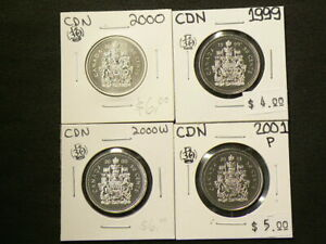 PL Uncirculated Coat of Arms 50-cent Missing part of design error 2000-w