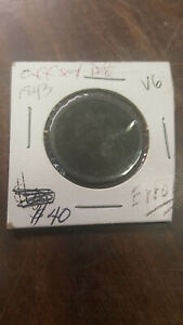 COIN   LARGE CENT   1843   VG   ERROR DATE OFFSET