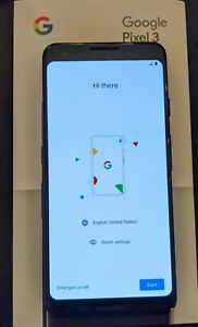 GOOGLE PIXEL 3   64GB   JUST BLACK  UNLOCKED    LIGHTLY USED PERFECT CONDITION