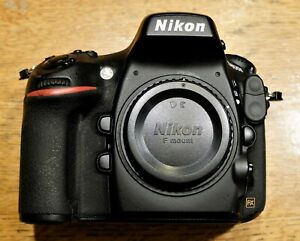 NIKON  D800E FX FORMAT FULL FRAME 36.3MP DIGITAL SLR CAMERA BODY