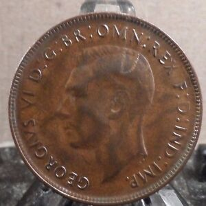 CIRCULATED 1942 1 PENNY AUSTRALIAN COIN  20917 8