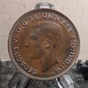CIRCULATED 1942 1 PENNY AUSTRALIAN COIN  20917 3