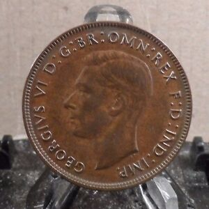 CIRCULATED 1942 1 PENNY AUSTRALIAN COIN  20917 5
