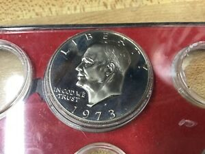 1973 S PROOF IKE DOLLAR FROM MY SET